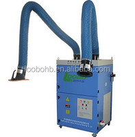 loobo manufacture industrial use dust collector/welding fume cleaner/portable fume extractor