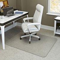 PVC Rectangular Chairmat for Hard Floor And Carpet Tiles 48
