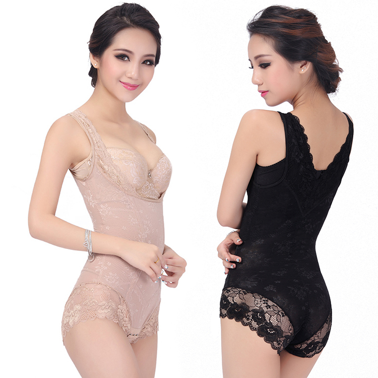 2015 Hot Sale Butt Lifter Hot Shapers Women Sexy Corset Shaper Magic Slimming Suit Body Building Underwear Ladies Shapewear Lace