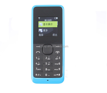 105 Wholesale Very Small Mobile Phone 1.44Inch Dual Sim GSM Mini Phone