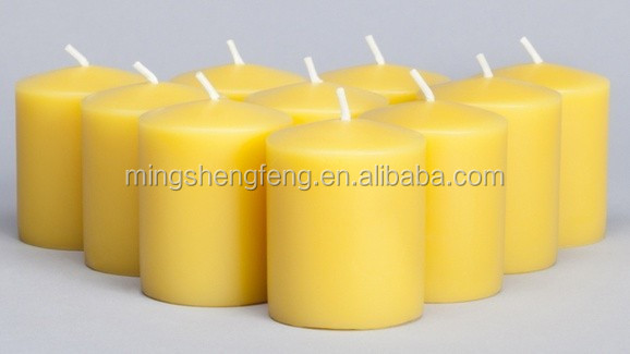 China Supplier Cheap Pure Beeswax Candles & Pellets For Cosmetic With FDA Certificate