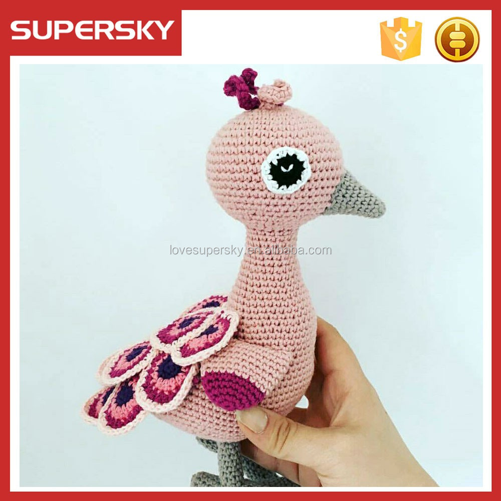 A140 Niños Rellenos Crochet Patrón Ecofriendly Crochet Juguetes ...