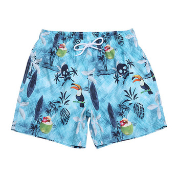 c7f982c00e 2019 Summer Quick Dry Swim Shorts Mens Swimwear Sublimation Printed Swim  Trunk with Pockets Drawstring