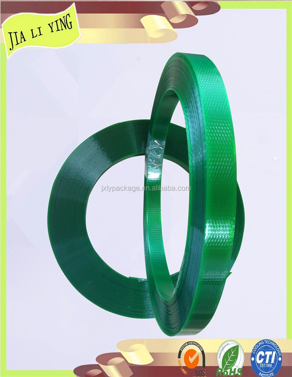 China Factory 18kg Green Pet Strapping Band Pet Strapping