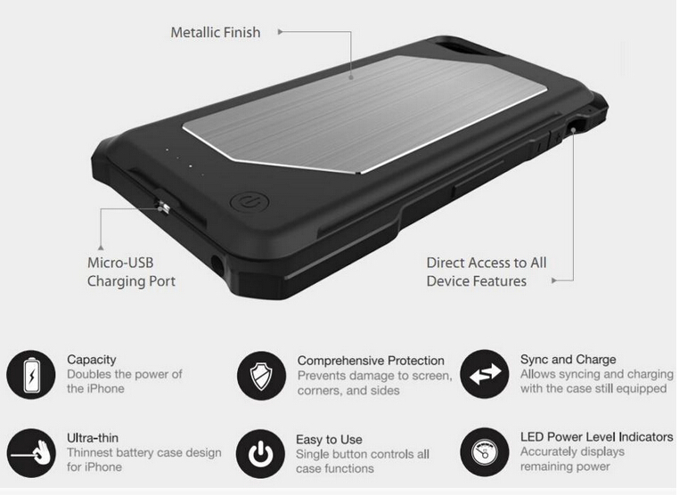 battery case power bank mfi certified battery case for iPhone