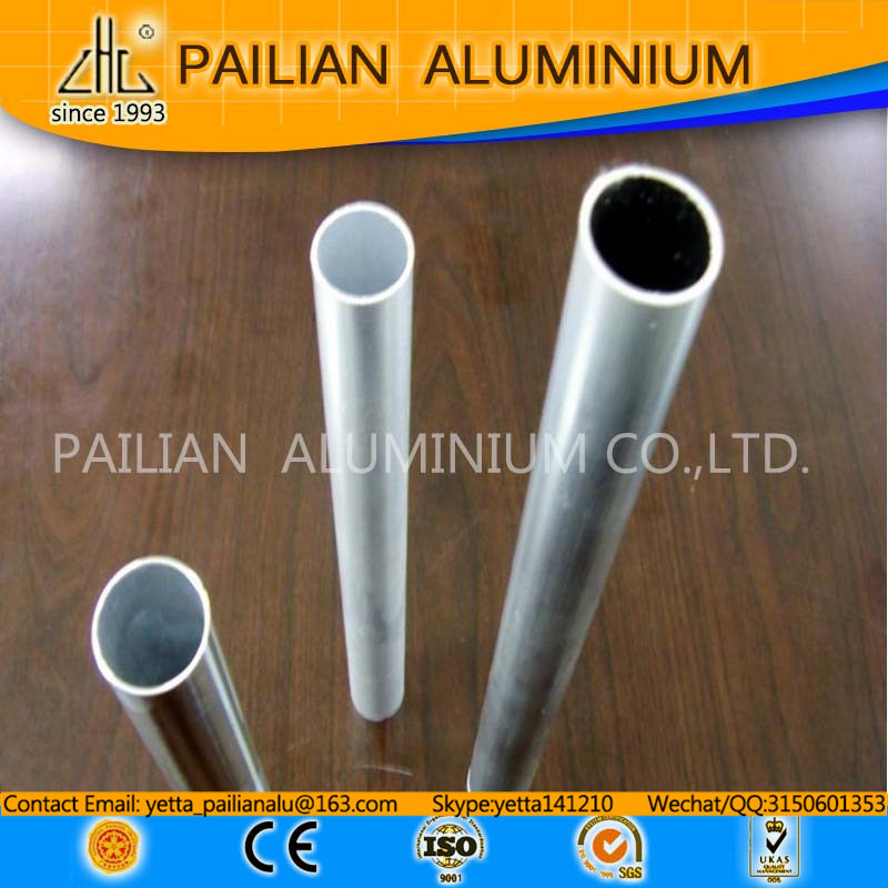 Extrusion Aluminum pipe profile ,6063 t5 tube good price,aluminium 6063 t6 tube import products of singapore