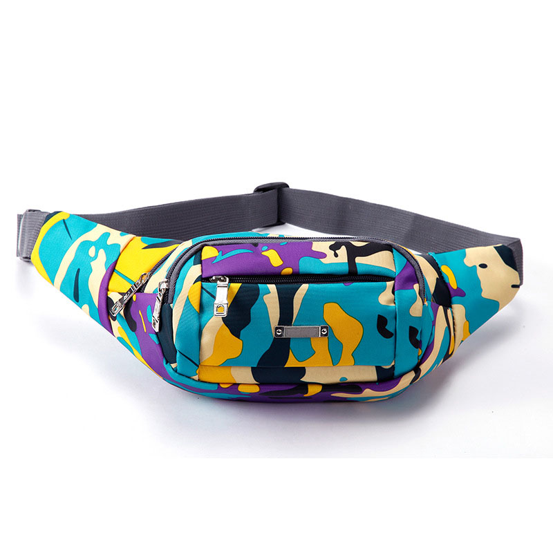 China Supplier Hot Sale Multi-functional Camouflage Sport Belt Running Military Waist Bag