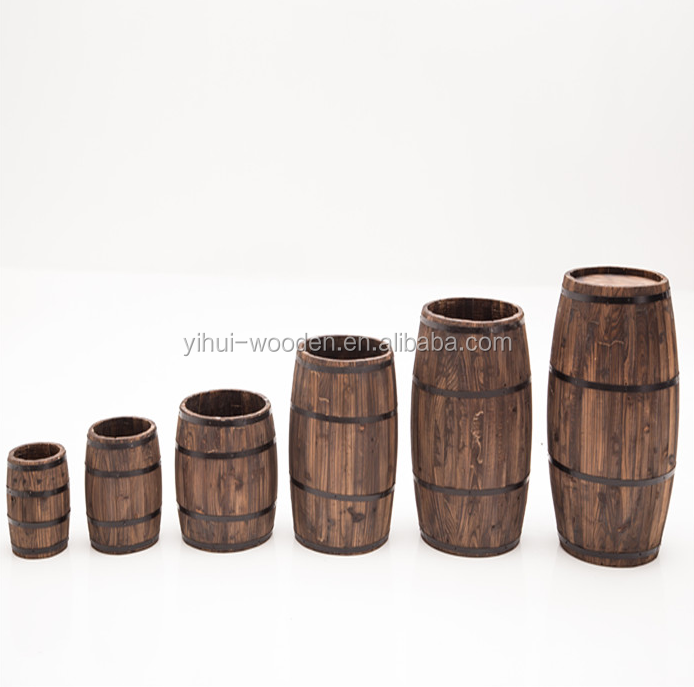 Empty Wooden Wine Barrel for 1.5L,3L,5L,10L,20L,225L