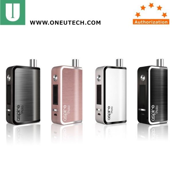 2016 new TC 50w aspire plato Sub ohm kit Aspire plato All in one Device Aspire 18650 cell kit