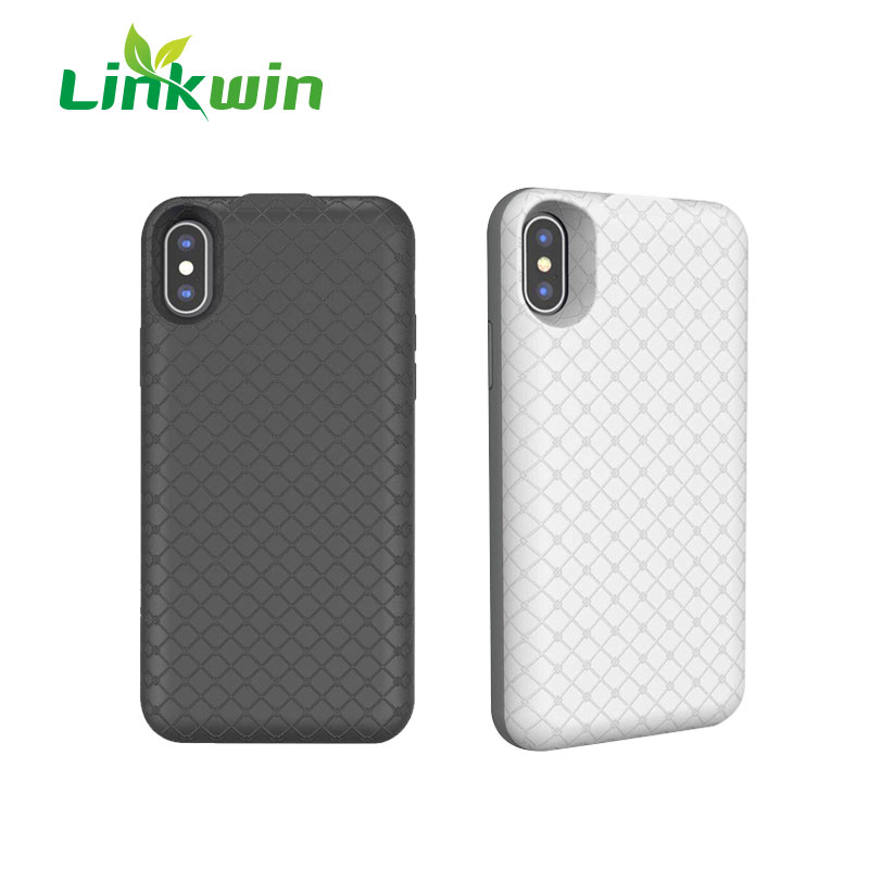 Wholesale Slim Portable Polymer Lithium 3600 mAh Wireless Charging Phone Case For iphone 7 Battery Case