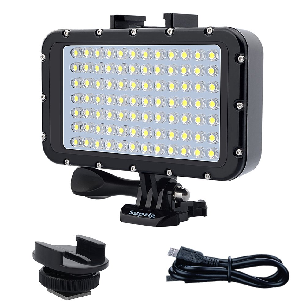 LED Fountain Lights for Diving Piscina Fish Tank. White, Black Shell Underwater LED Pool Lights 1000lm IP68 Waterproof LED Underwater Lights AIMENGTE LED Underwater Lamp Fully Submersible