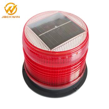 Marine Solar Navigation Light Red Led