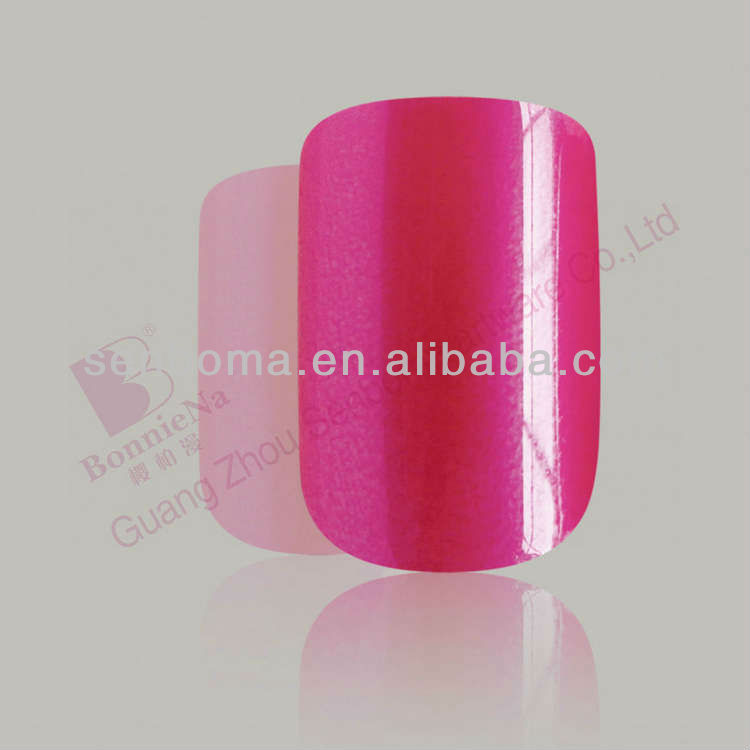 Summer Hot Sale Solid Color Fake Nails Girls Brand Names Of Red ...