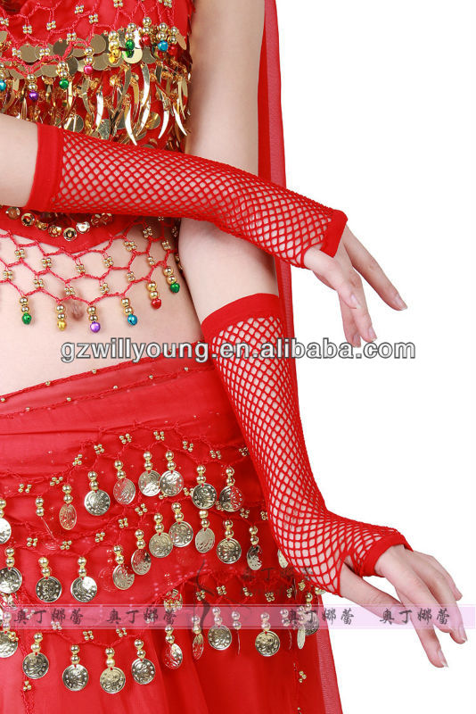 2013 newest beautiful belly dance hand glove,belly dance accesories