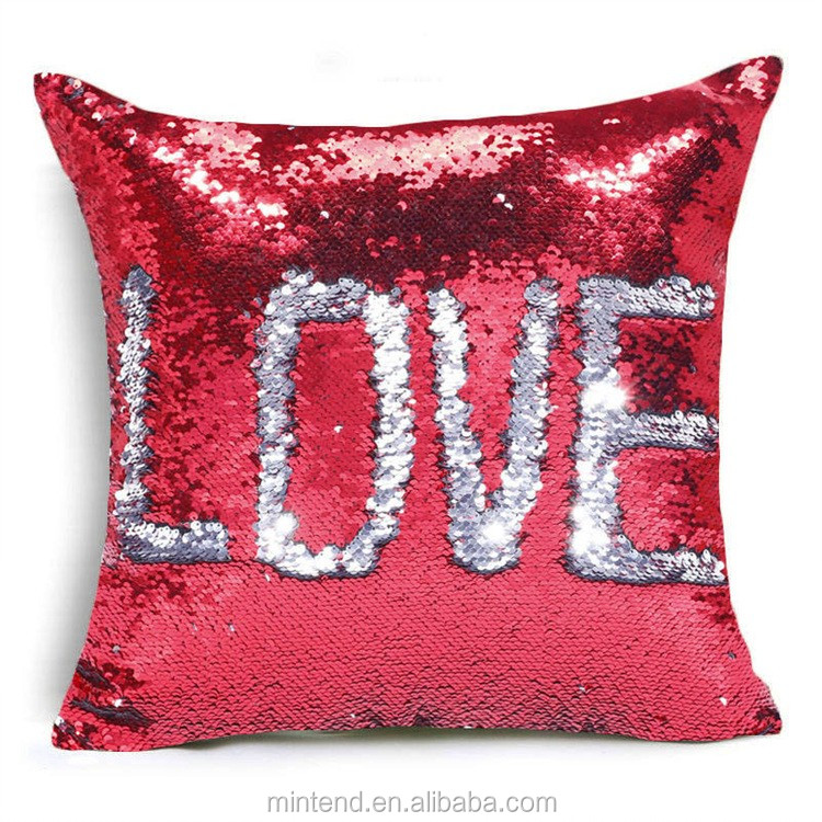 Wholesale newest creative cheap baby pillows sequin for Buy pillows online cheap