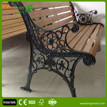 Hot Wood Slats For Cast Iron Bench Outdoor Furniture Park