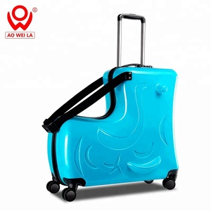 kids travel trolley riding luggage ride on luggage spinner 24 inch wheel luggage