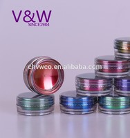 Newest holographic pigment glitter for nail art, holo powder with highest quality