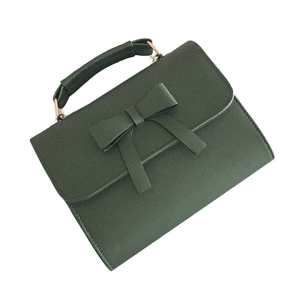 FitfulVan Clearance! Hot sale! Bags, FitfulVan HOT SALE 2018 Women Bow Messenger Bags Fashion lady crossbody women Bag (green)