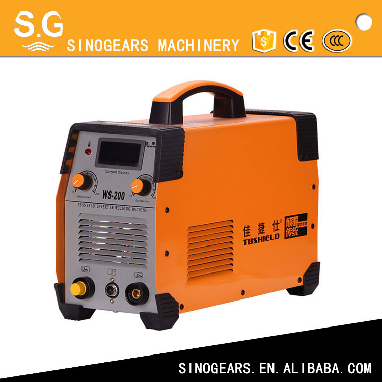 New condition cheap argon tig dc inverter ws 200 inverter welding machine