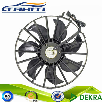 For Volvo Electric Engine Cooling Radiator Fan With Shroud Motor Plastic Blade Embly 620 881