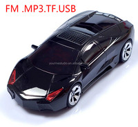 D6 Portable Speaker Car model mini stereo Portable Radio MP3 player