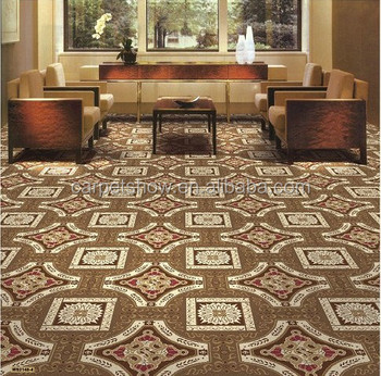 Wilton woven 4m roll floral pattern wall to wall carpet for Floral pattern wall to wall carpet