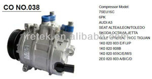 High quality 7SEU16C auto ac compressor for AUDI A3,SKODA,GOLF