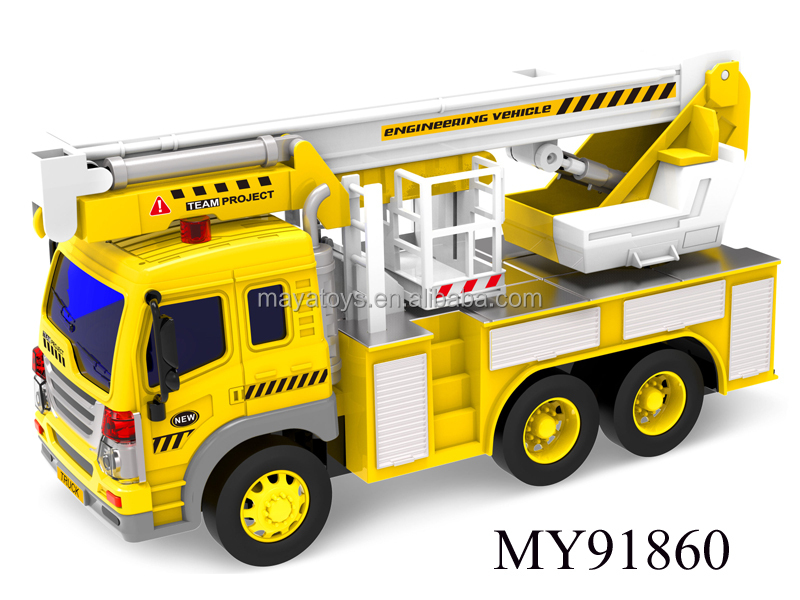 new product plastic toy fire truck kids friction toys truck with