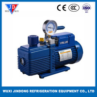 New refrigerant dual stage vacuum pump Vi280SV with pressure gauge