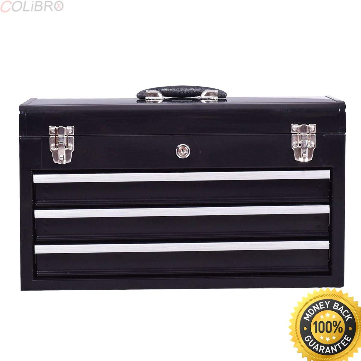 cdb167bc71b Get Quotations · COLIBROX--New Portable Tool Chest Box Storage Cabinet  Garage Mechanic Organizer 3 Drawers.