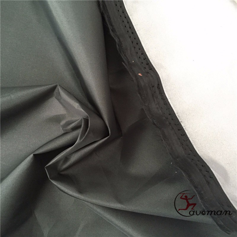 Geverfd Zilver Gecoat 190 T Polyester Taffeta auto en boot cover Stof