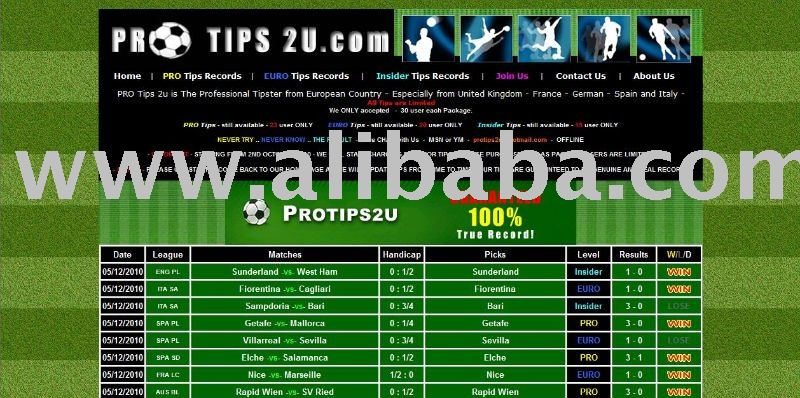 Professional Soccer Betting Tips - Buy Soccer Betting Tips Product on  Alibaba com