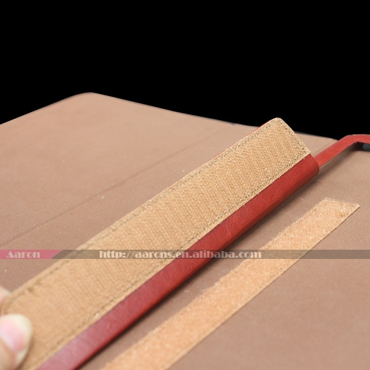 Top grain genuine leather case Full protect cover for ipad pro leather case