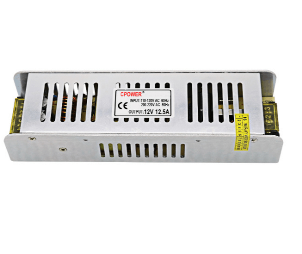 Good price with 12v 24v low power consumption 150w ac dc LED switch power supply for lcd solar tv