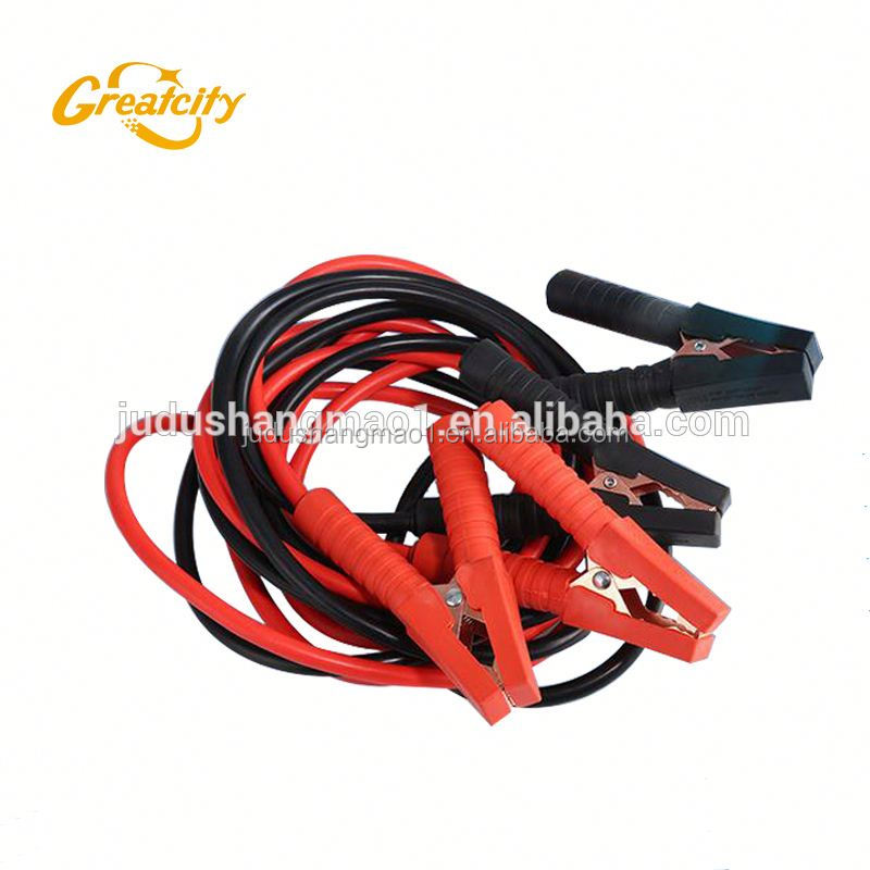 12-24V emergency tools jump starter kit/ car booster starting tool cables with power bank