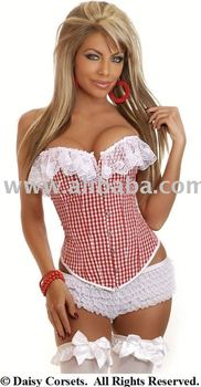 ac6e94cc56 Daisy Corsets Country Girl Gingham Corset - Buy Corset Product on ...
