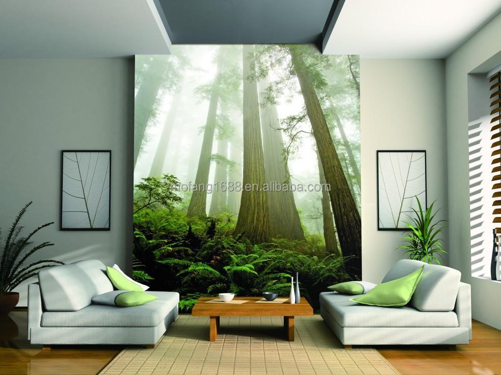 Relajarse aqu la naturaleza paisaje 3d papel para pared - Papel pintado paisaje ...