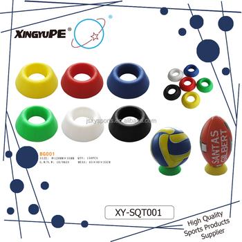 Xysqt40 Factory Supply Hot Sale Football Display RacksBasketball Mesmerizing Football Display Stand Plastic