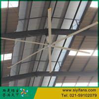 16ft Low Energy Industrial Ceiling Fan Mounting Big Industry Fan