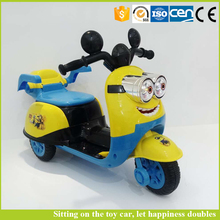 Lovely cartoon baby car to drive motorcycle toy ride on car