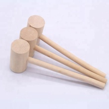 Wood handle hammer Clean crab mallet
