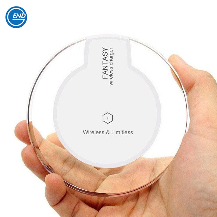Custom Logo Long Distance Qi Certified Wireless Charger Table Charger For Huawei Honor 8 Wireless Charging Pad