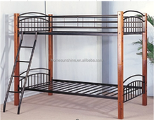 Metal & Timber SINGLE Size Bunk Bed
