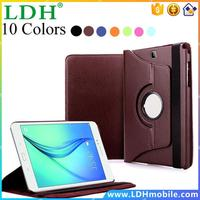 Luxury Tablet Cover Case For Samsung Galaxy Tab A 9.7 inch SM-T550 T555 Leather Flip 360 Rotating Book Stand Smart Cover Skin