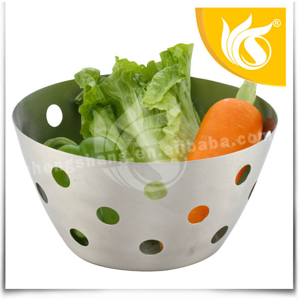 2 Size Stainless Steel Gift Vegetable Basket