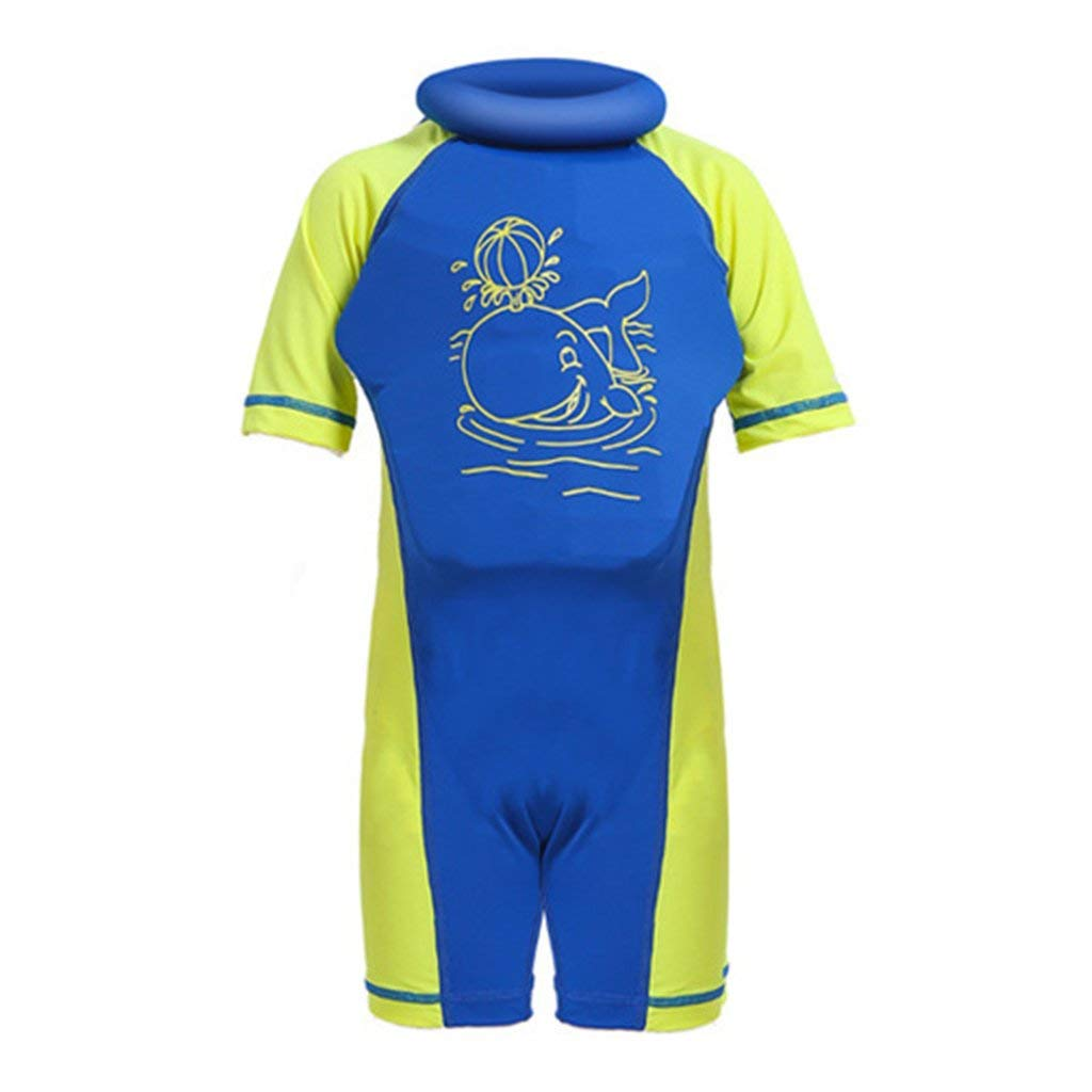 09f7133a9c Get Quotations · Baby Boys Girls Float Suit Swimsuit Toddler Kids Buoyancy  Swimwear 1-7 Years