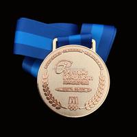 High Quality Custom metal sports medal hanger gold medal Metal Crafts