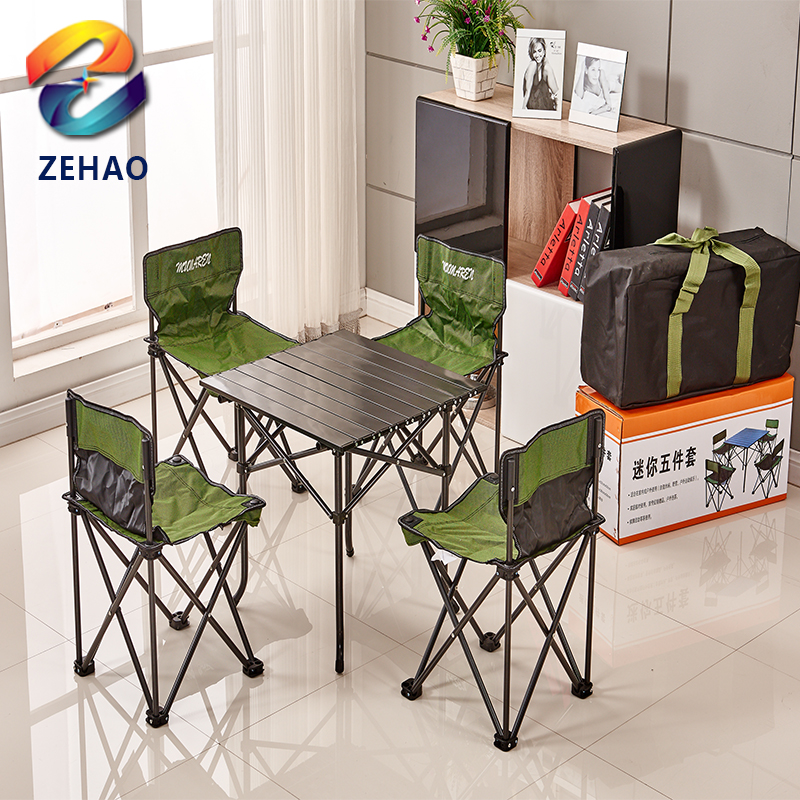 Outdoor portable double seat beach folding chair