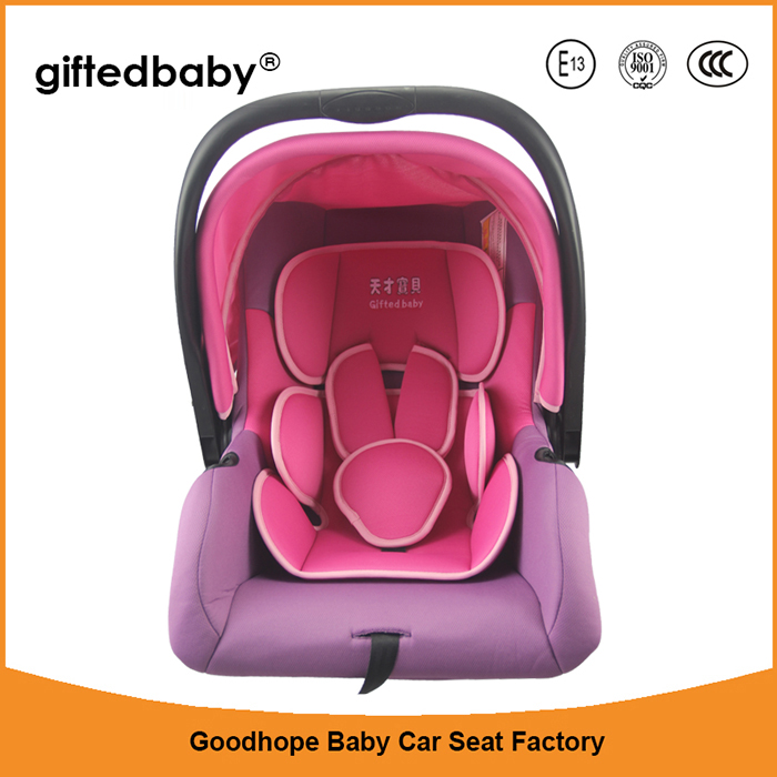 European style Group 0 portable baby car seat for 0-13 KG infants